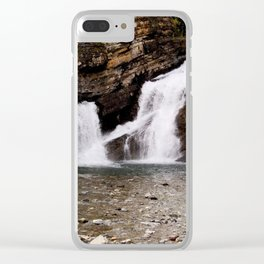 Cameron Falls Clear iPhone Case