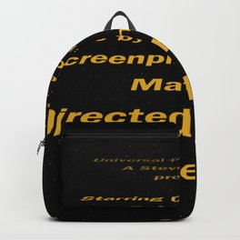 E.T. cast & Crew Backpack