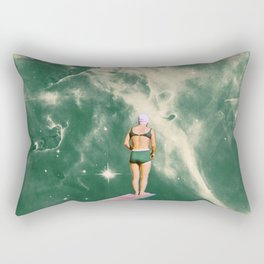 Space Olympics Rectangular Pillow
