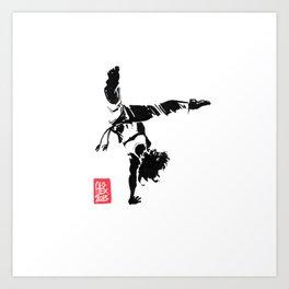 Capoeira 451 Art Print