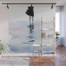 all around the sea Wall Mural