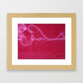 smokedrift 03: heart Framed Art Print