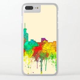 Santa Fe, New Mexico Skyline - SG Clear iPhone Case
