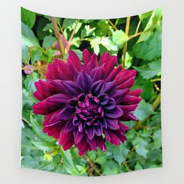 Dark Dahlia Wall Tapestry