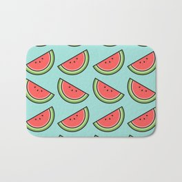 Watermelon Pattern Bath Mat