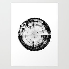 Pain Emotion (HATE IN-SITU) Art Print
