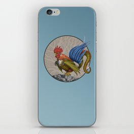 Monster of the Week: Nevine Blue Tailed Cockatrice iPhone Skin
