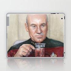 Captain Picard Earl Grey Tea | Star Trek Painting Laptop & iPad Skin