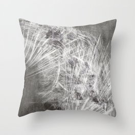 transmutated perennials  Throw Pillow