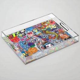 129 Inspirations Acrylic Tray