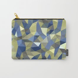 Aqua Moss Crystal Carry-All Pouch