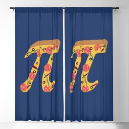 Pizza Pi Blackout Curtain