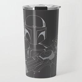 Boba Fett - Lines Travel Mug