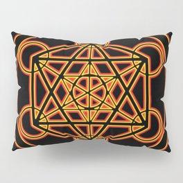 Metatron Red Gold Pillow Sham