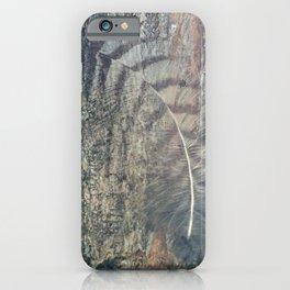 Bark Feather iPhone Case