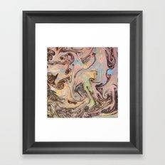 Marble Mirage Framed Art Print