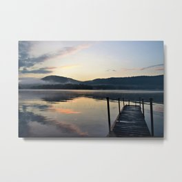 Sunrise After the Storm: Lake George Metal Print