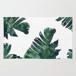 Banana Leaf Watercolor #society6 #buy #decor Rug