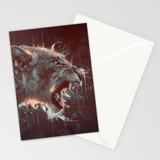 DARK LION Stationery Cards
