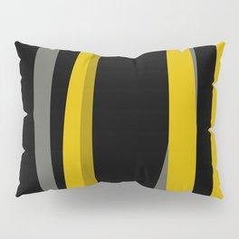 yellow gray and black Pillow Sham