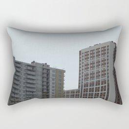 New construction of a new residential complex Rectangular Pillow