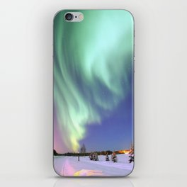 Aurora Borealis, or Northern Lights, Alaska  iPhone Skin
