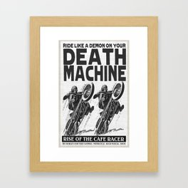 Death Machine Framed Art Print