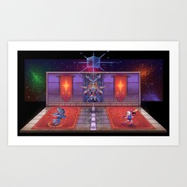 Bomberman 64 final battle diorama Art Print