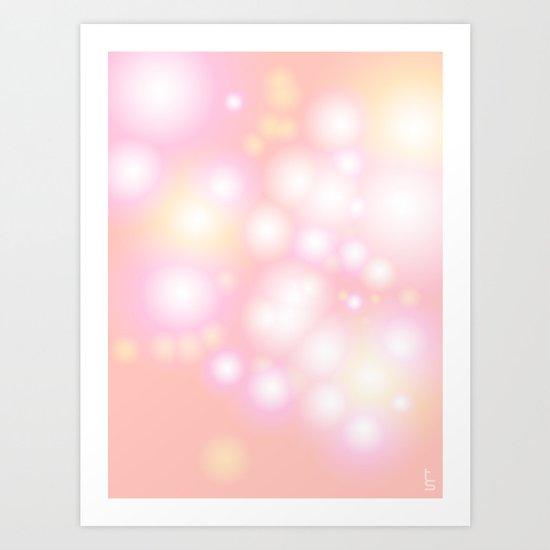 Soft Pearls Art Print