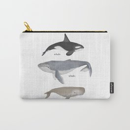 whale.whale.whale. Carry-All Pouch