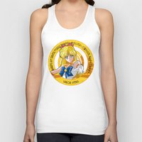 sailor venus Tank Tops featuring Sailor Venus - Crystal Intro by Yue Graphic Design