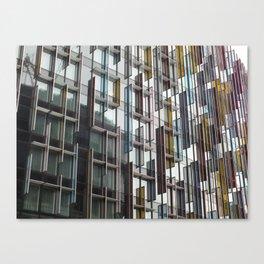 Glass Castle Canvas Print