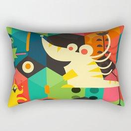 Poached Egg Party Rectangular Pillow