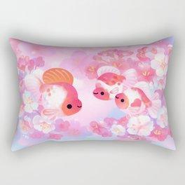 Sakura Ryukin Rectangular Pillow