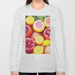 Lots of Kiwi and Oranges Long Sleeve T-shirt