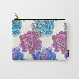 Vibrant Succulents  Carry-All Pouch