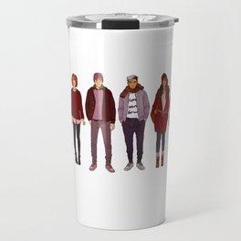 Winter Fashions Travel Mug