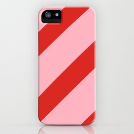 Reddy Stripes iPhone Case