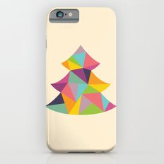 Colourful Christmas Tree iPhone 6s Slim Case