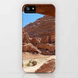 Caved Perspective iPhone Case