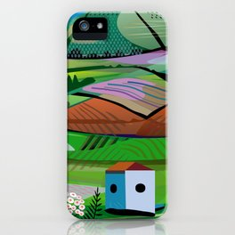 Tea Plantation iPhone Case