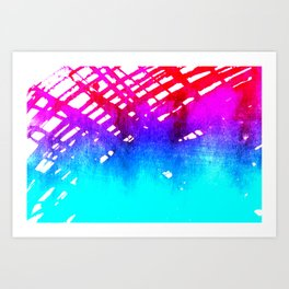 Performing color Art Print