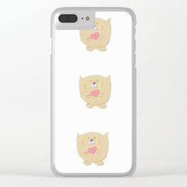 Curious buddy Clear iPhone Case