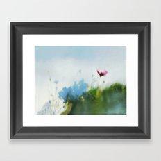 Sunny Sonja Framed Art Print