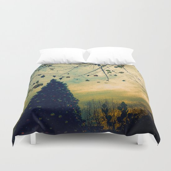Urban Christmas Duvet Cover