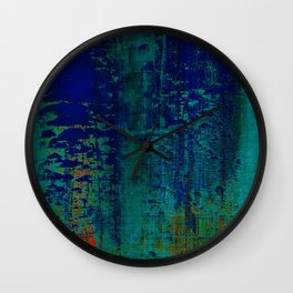 Simon Carter Painting Is This Innocence? Wall Clock