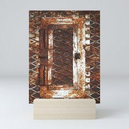 Rusted Door Mini Art Print