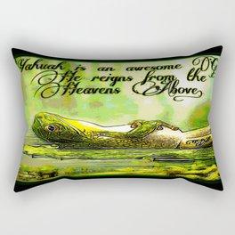 Amphibian Models: Frog Laze 01-05 Rectangular Pillow