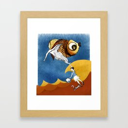 Nora's Fish 2 Framed Art Print