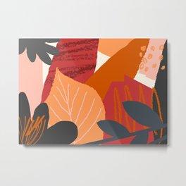 Autumn Abstract 2 Metal Print